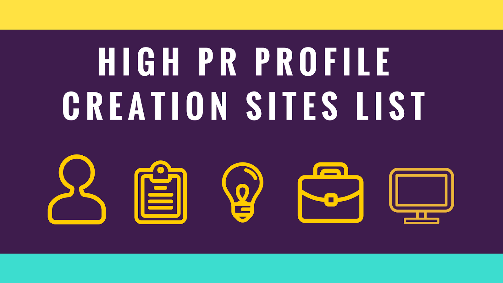 Profile Creation Sites List Do-follow Backlinks