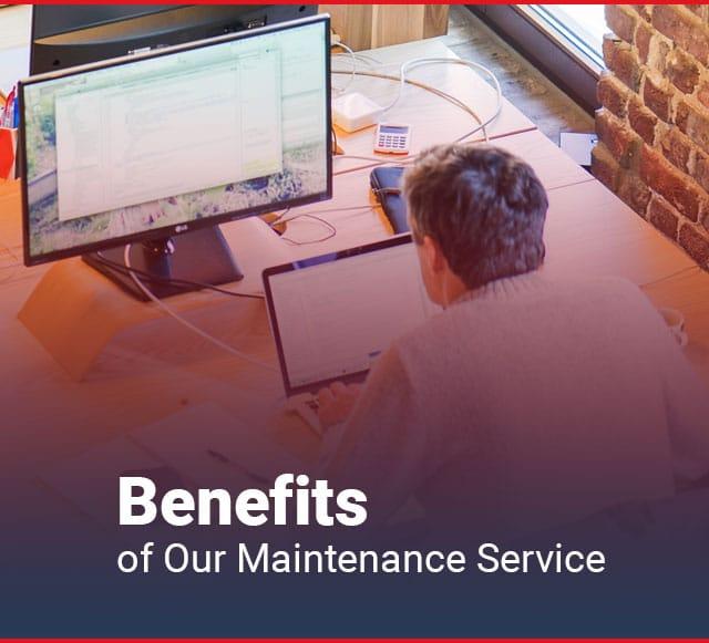 BENEFITS WEBSITE MAINTENANCE